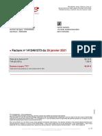 Facture Freemobile 20210128