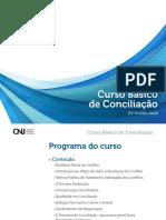 Curso de Conciliação_CNJ 24 horas-aula