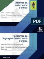 M3_Aula 9_Estimulação Do Processamento Ortográfico e Da Elaboração Escrita_Maria Thereza_Apresentação