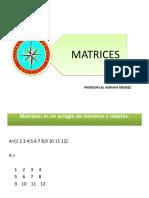 matrices clase 5