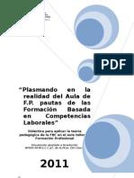 Plasmando en La Realidad Del Aula de F.P.fbcl2011