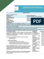 INFORME DE ACTIVIDADES 25 DE FEBRERO DEL 2021