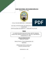 """""""LA UNIÓN DE HECHO QUE SE DA EN EL CENTRO COMUNAL FAMILIAR DEL BARRIO"""