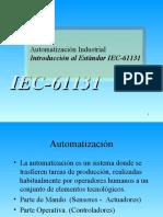 00 - Presentation IEC 61131 Summary (Spanish)