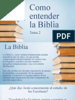 02HEB Como Entender La Biblia