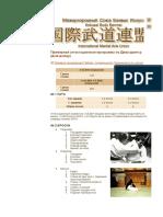 Примерная аттестационная программа по Джиу-джитсу