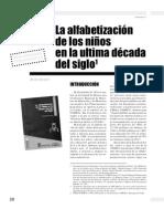 ARTICULO - Ferreiro - Alfabetización de los niños