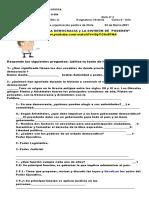ACTIVIDAD EVALUADA LA DEMOCRACIA y LA DIVISIÓN DE ´PODERES maytte (2)