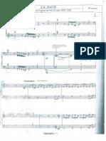 toccata et fugue de Bach