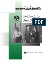 Commissioner Fieldbook for Unit Service