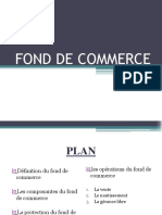 Fond de Commerce