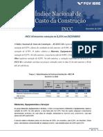RELATORIO INCC-M FECHAMENTO Dez 14