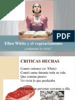 Ellen White y el vegetarianismo