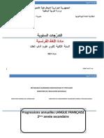 progressions 2019 2ème ANNEE SECONDAIRE-.doc · version 1