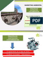 PRINCIPALES SUSTANCIAS CONTAMINANTES