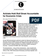 11-03-07 Activists Hold Wall Street Accountable for Economic Crisis_Truthout