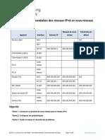 11.5.5 Packet Tracer Subnet an Ipv4 Network Fr FR