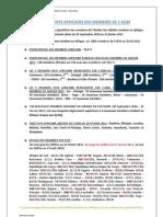 Repartition par Pays Des Membre Africains de l'Atelier Des Médias de RFI