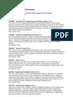 Course Descriptions Mechanical Engineering