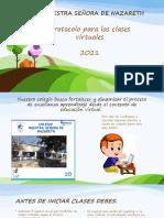 Pautas Para Primaria 2021 Clases Virtuales