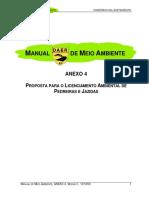 Manual de Meio Ambiente - Anexo 4 - DAER RS