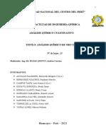 2.0 INFORME - ANALISIS DE PLATA Y ORO