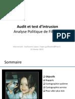 04 - AUTI - Formation - Securite - Analyse-Politique-Filtrage