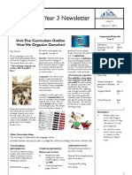 Parent Newsletter How We Organise Ourselves