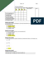 Evaluations Mouvement Interactions Forces Poids Gravitation 3ème (1)