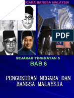 SEJARAH T5 - BAB 6