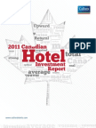 Canadian Hotel Investment Report 2011 Final