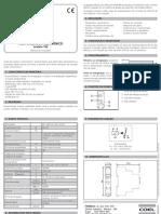 Manual de instrucciones para operar la seleccionadora vibratoria T80