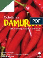 Coletnea Damurida - Estudos Lingusticos  Literrios