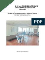 INFORME DE SEMINARIO PROYECTO DE AGUA POTABLE