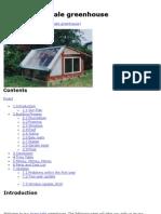 Kiva Straw Bale Greenhouse