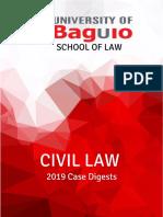 Civil Law 2019 Case Digests