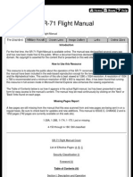 SR-71 Declassified Flight Manual