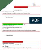 Machote Curriculum Médicos y Stakeholsders