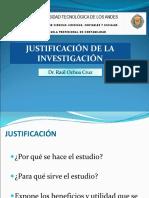 Justificación de la Investigación 2