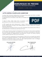 Communiqué FGC du 9 avril 2021_ Lutte contre le gaspillage alimentaire VF