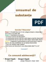 4Consumul de Substanțe