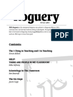 TEFL Roguery Newsletter - Winter 2001