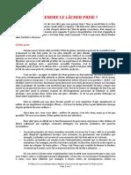 APPRENDRE LE LACHER PRISE (2 pages - 75 ko)