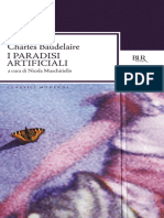 Baudelaire Charles - I Paradisi Artificiali
