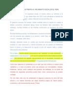 LA SOLIDARIDAD FRENTE AL AISLAMIENTO SOCIAL (POR CORREGIR)
