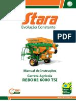 STARA - REBOKE TSI 6000