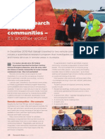 Social research in remote communities – it's another world I
