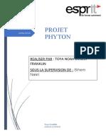Projet de Python