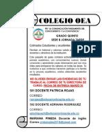 ESTRATEGIA APRENDE EN CASA GRADO 5 JT SEDE B