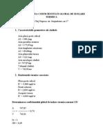 DETERMINAREA COEFICIENTULUI GLOBAL DE IZOLARE TERMICA-17